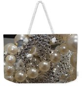 Diamonds And Pearls 2 Weekender Tote Bag
