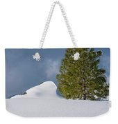 Diamonds In The Snow Weekender Tote Bag