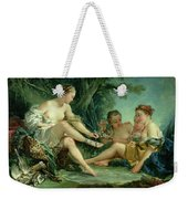 Diana After The Hunt Weekender Tote Bag by Francois Boucher