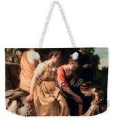 Diana And Her Companions Weekender Tote Bag
