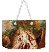 Diana And Her Nymphs Bathing Weekender Tote Bag