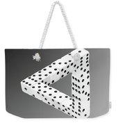 Dice Illusion Weekender Tote Bag