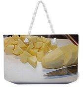 Dicing Potatoes I Weekender Tote Bag