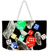 Dicing With Chance Weekender Tote Bag
