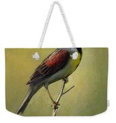 Dickcissel Summer Song Weekender Tote Bag