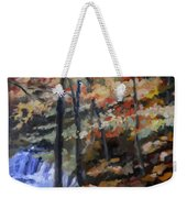 Dick's Creek Falls Weekender Tote Bag