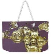 Dictionary Of Negroafrican Celebrities 1 Weekender Tote Bag