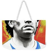 Diego Maradona By Nixo Weekender Tote Bag
