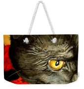 Diego The Cat Weekender Tote Bag