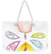 Different Faces Weekender Tote Bag