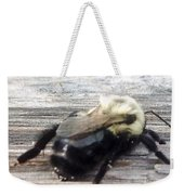 Different Take Of A Bee Weekender Tote Bag