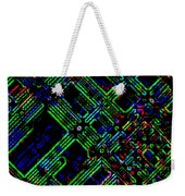 Diffusion Component Weekender Tote Bag by Will Borden