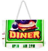 Digger's Diner Weekender Tote Bag