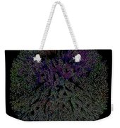 Digital Abstract Graphic Design A662016 Weekender Tote Bag