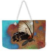 Digital Art Butterfly Weekender Tote Bag