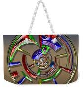 Digital Art Dial 6 Weekender Tote Bag