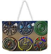 Digital Art Dials Weekender Tote Bag