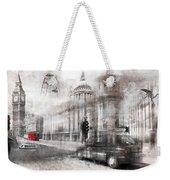 Digital-art London Composing Weekender Tote Bag