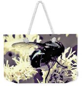 Digital Bottle Fly Weekender Tote Bag