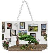 Digital Exhibition _ Bonsai 22 Weekender Tote Bag