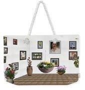 digital exhibition _ Flower basket 22 Weekender Tote Bag