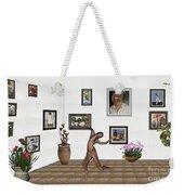 digital exhibition _ Girl 2 - Zombie  Weekender Tote Bag