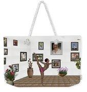 Digital Exhibition _ Girl Acrobat 34 Weekender Tote Bag