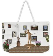 Digital Exhibition _ Guard Of The Exhibition 3 Weekender Tote Bag