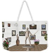 Digital Exhibition _ Guard Of The Exhibition1 Weekender Tote Bag