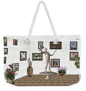 Digital Exhibition _ Guard Of The Exhibition2 Weekender Tote Bag