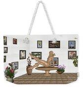 digital exhibition _ Sculpture 12 of girl  Weekender Tote Bag