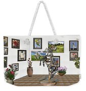Digital Exhibition _ Statue Of Branches Weekender Tote Bag