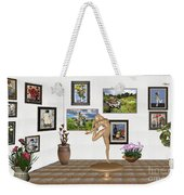 Digital Exhibition _ Statue Of  Erotic Acrobatics  2 Weekender Tote Bag