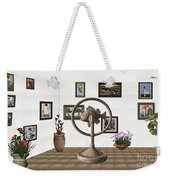 digital exhibition _ Statue of fish 4 Weekender Tote Bag