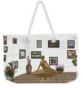 digital exhibition _ Statue of girl 49 Weekender Tote Bag