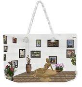 digital exhibition _ Statue of girl 52 Weekender Tote Bag