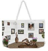 digital exhibition _ Statue of Girl 6 Weekender Tote Bag