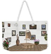 digital exhibition _ Statue raft with sails 3 Weekender Tote Bag