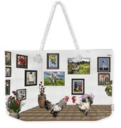 Digital Exhibition _ The World Is Narrow For Two Weekender Tote Bag