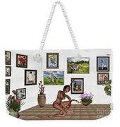 digital exhibition _beautiful Girl  - Zombie Weekender Tote Bag