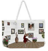 Digital Exhibition _dancing Girl 221 Weekender Tote Bag