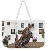 digital exhibition _Modern Statue of scrap Weekender Tote Bag