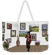 Digital Exhibition _posing Girl 221 Weekender Tote Bag