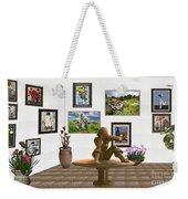 digital exhibition _Statue 4 of posing girl 221 Weekender Tote Bag
