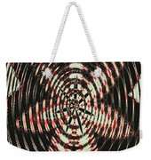 Digital Fan Abstract Weekender Tote Bag