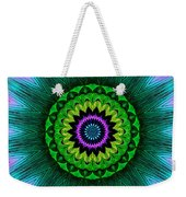 Digital Kaleidoscope Mandala 50 Weekender Tote Bag