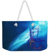 Digital Liquid Weekender Tote Bag