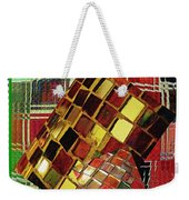 Digital Mosaic Weekender Tote Bag