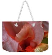 Digital Oil Painting Pink Iris 9915 O_2 Weekender Tote Bag
