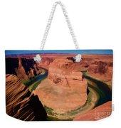 Digital Paint Horseshoe Bend  Weekender Tote Bag